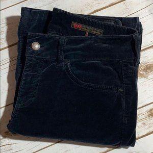 AG Jeans Nicole Velvet Wide Leg Trouser 28 x 30